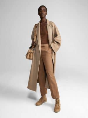 Maxmara 21PF 10160919 051 LABBRO Cashmere coat Turtledove