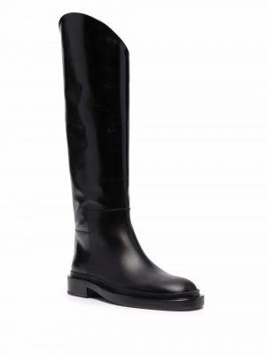 Jil Sander block-heel ankle boots