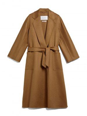Maxmara LABBRO Cashmere coat Tobacco