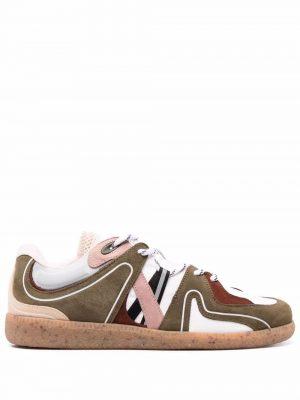 GANNI 21PF S1551 861 Retro sneaker White/green/red