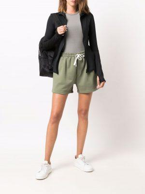 Philosophy drawstring cotton shorts