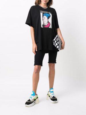 MM6 graphic-print short-sleeved T-shirt