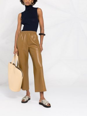 Nanushka Odessa cropped-leg trousers