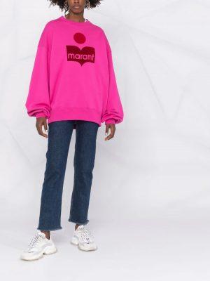 Isabel Marant Etoile Mindy logo-print sweatshirt