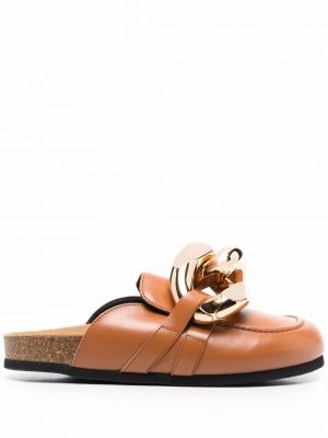 JW Anderson chain loafer slip-on mules