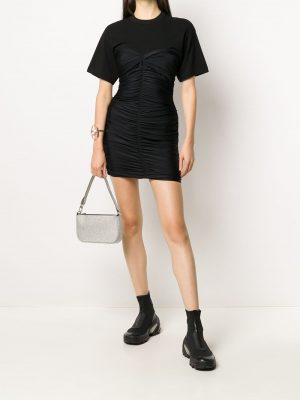 Alexander Wang.T ruched T-shirt mini dress