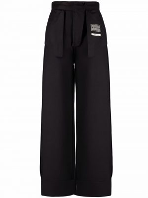 MM6 deconstructed straight-leg trousers