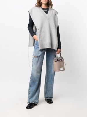 Maison Margiela distressed knitted Stole