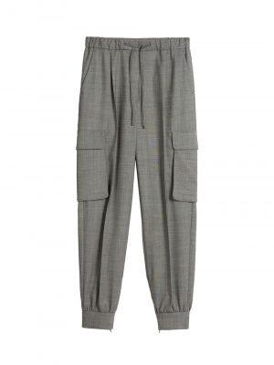 Maxmara PIANOSA Stretch wool trousers