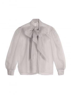 Maxmara UNIONESilk organza shirt