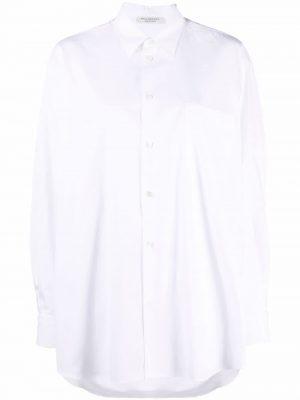 Philosophy oversized draped shirt