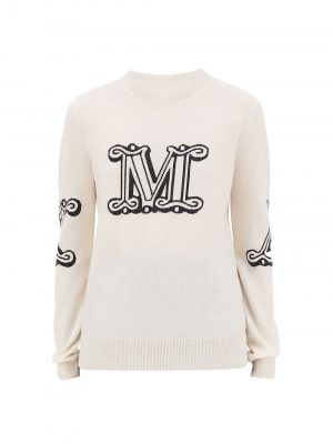 Maxmara KUBAN Logo Cashmere jumper
