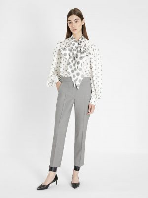 Maxmara ESCHILO Silk spot shirt