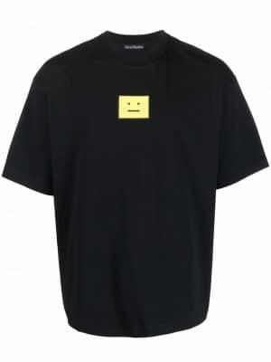 Acne studios face patch T-shirt