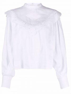 Isabel Marant Etoile cut out-detail blouse