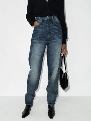 Isabel Marant Etoile high-rise boyfriend jeans