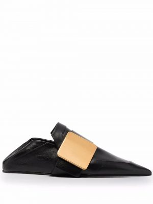 Jil Sander touch-strap leather loafers