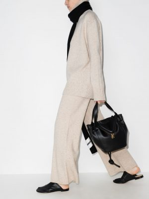 Joseph Tweed knitted trousers