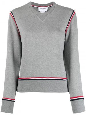 Thom Browne RWB-stripe performance sweatshirt