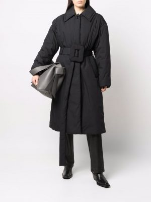 Acne Studios belted padded trench coat