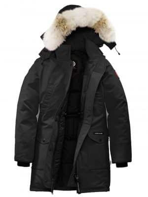 Canada Goose 21PF 6660L 61 TRILLIUM Down Jacket /Fur Black