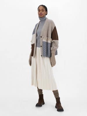 Maxmara weekend FIOCCO Wool yarn cardigan