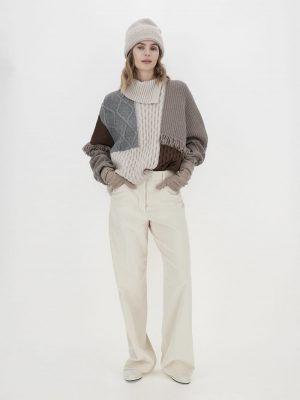 Maxmara weekend VISINO wool yarn sweater