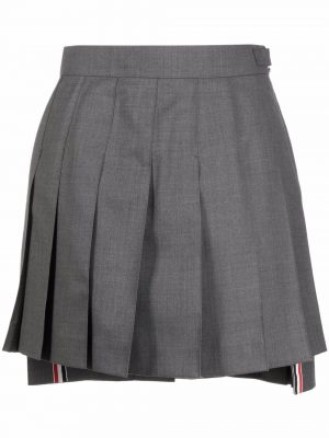 Thom Browne step-hem pleated skirt