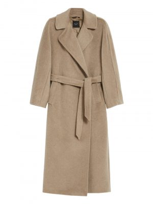 Maxmara weekend DIEGO Wool and mohair coat