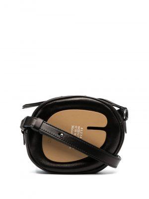 Maison Margiela zip-up leather shoulder bag