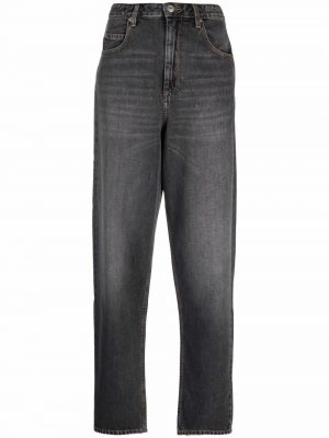 Isabel Marant Etoile high-rise straight-leg jeans