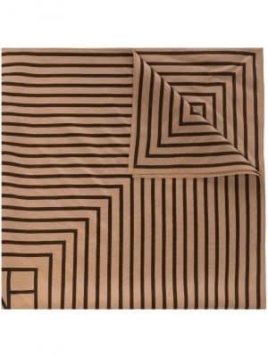 Toteme monogram silk scarf