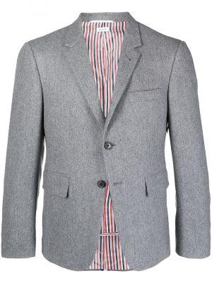 Thom Browne RWB stripe tailored blazer
