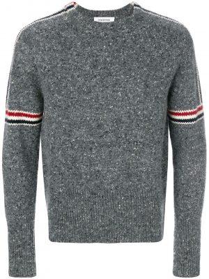 Thom Browne armband tweed pullover