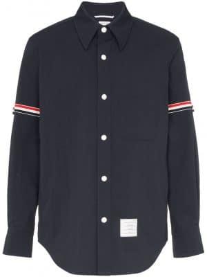 Thom Browne armband shirtjacket