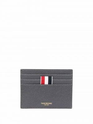 Thom Browne RWB-stripe pebbled cardholder