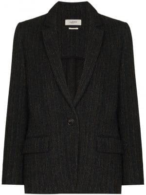 Isabel Marant Etoile Charly tweed single-breasted blazer