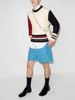 Thom Browne Fun Mix tweed jumper