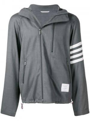 Thom Browne double-zip raglan jacket
