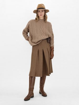 MaxMara Weekend ABBONO wool twilltrousers