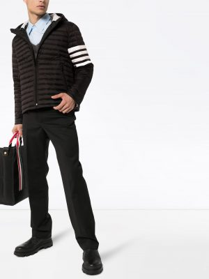 Thom Browne 4-Bar stripe padded jacket