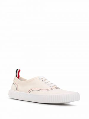 Thom Browne Heritage cotton canvas sneakers