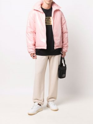 Acne Studios high-neck zip-up padded jacket