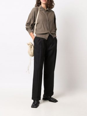 Lemaire roll-neck knitted cardigan