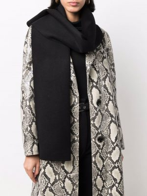 Toteme knitted cashmere-wool scarf