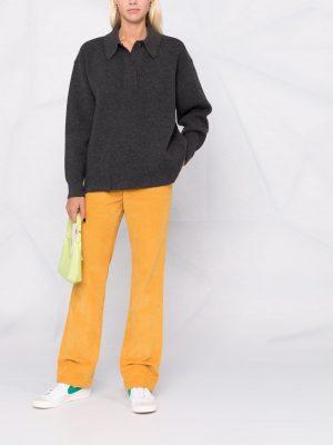 Isabel Marant Etoile Lark oversized polo jumper