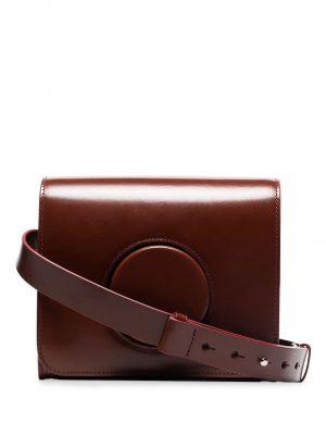 Lemaire Camera leather shoulder bag