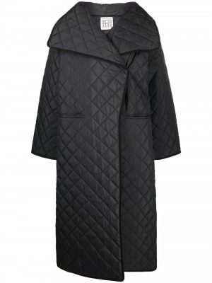Toteme quilted single-breasted coat