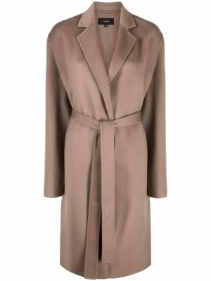 Joseph belted midi coat