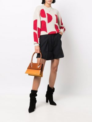 Isabel Marant Etoile logo-print knitted jumper
